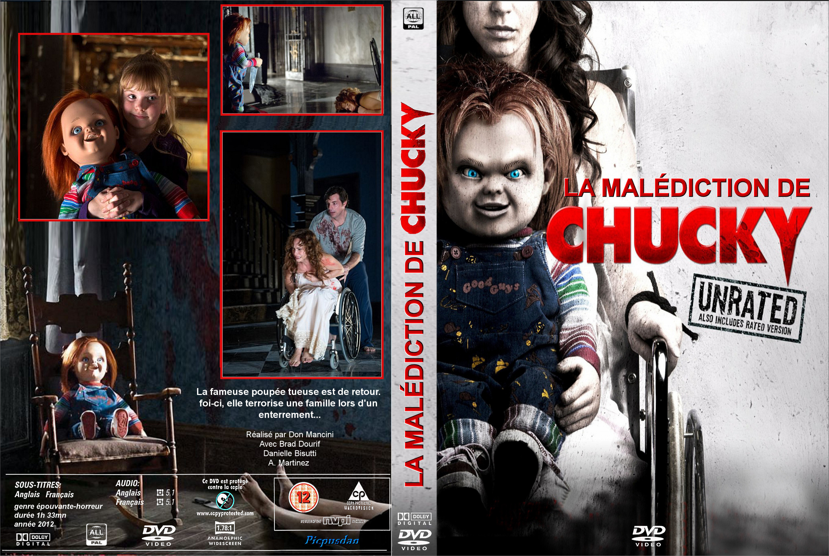 la malediction de chucky